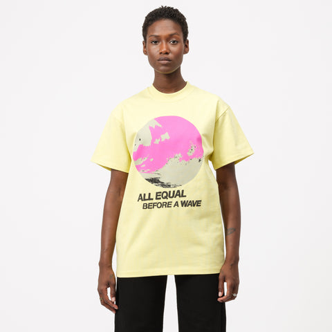 All Equal T-Shirt in Yellow