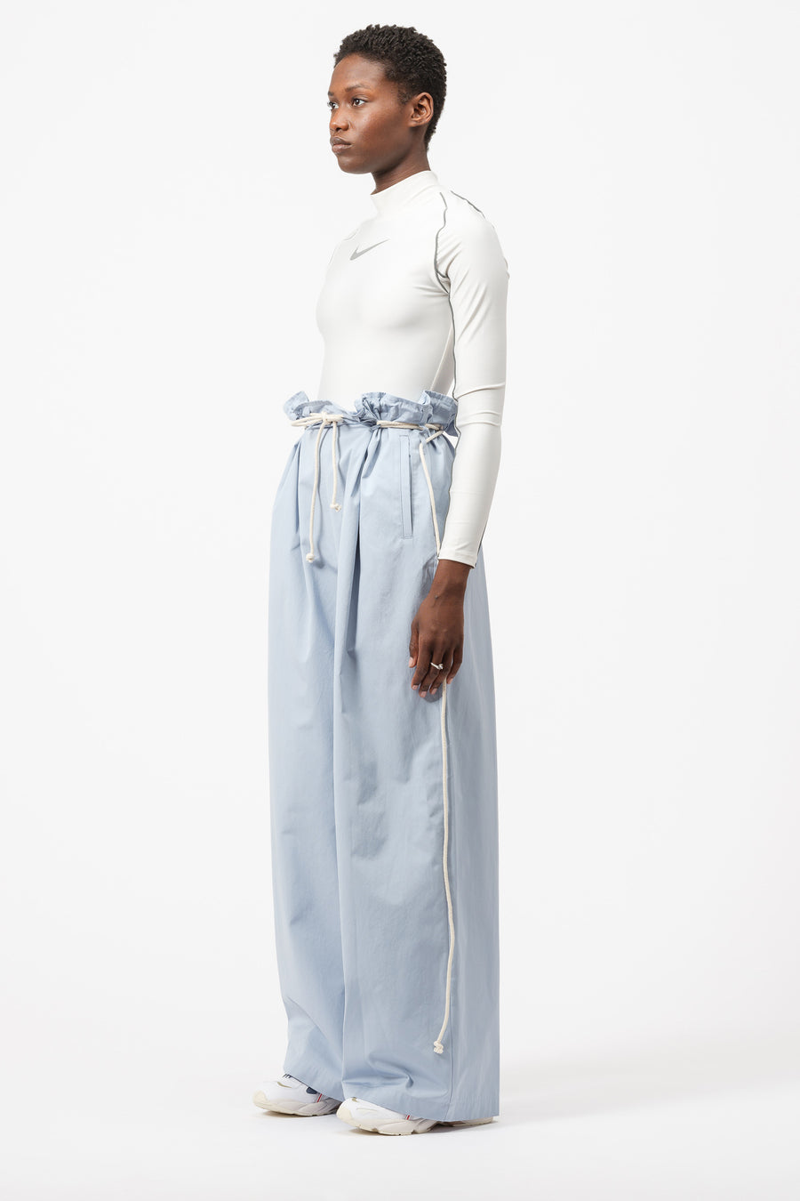 AMBUSH Drawstring Pants in Light Blue - Notre