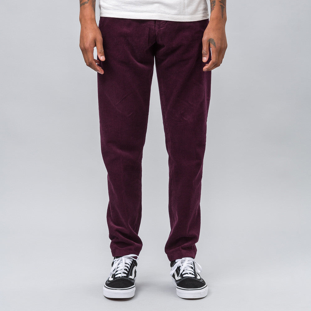 Corduroy Trouser in Plum
