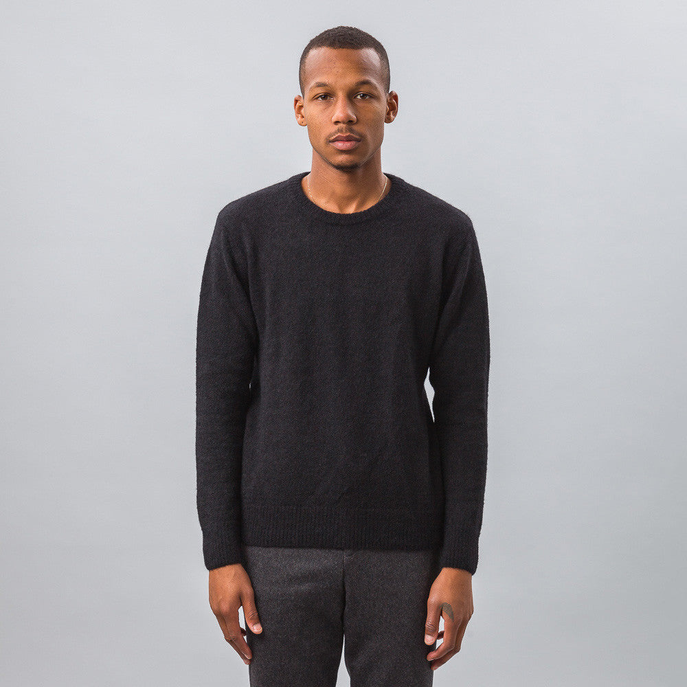Ami - Crewneck Sweater in Black - Notre - 1