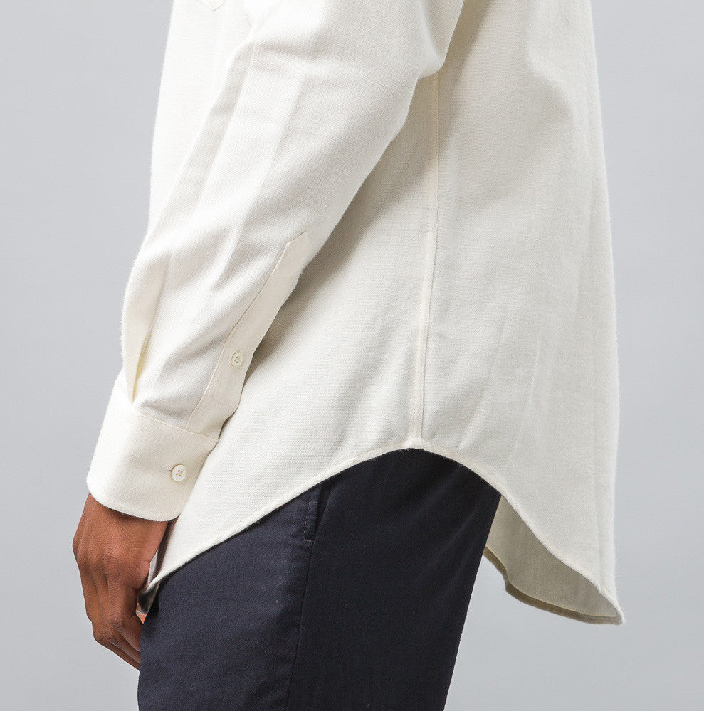 Large Fit BD Shirt in White