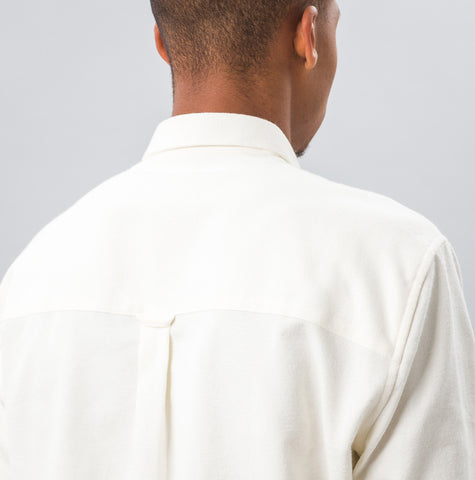 Ami Large Fit BD Shirt in White - Notre