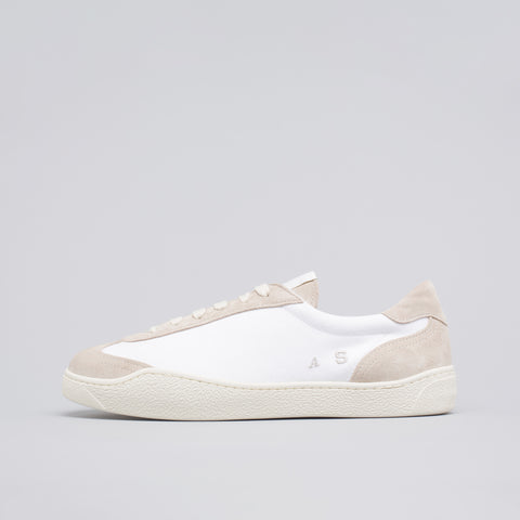 Acne Studios Lars Canvas Shoe in White - Notre