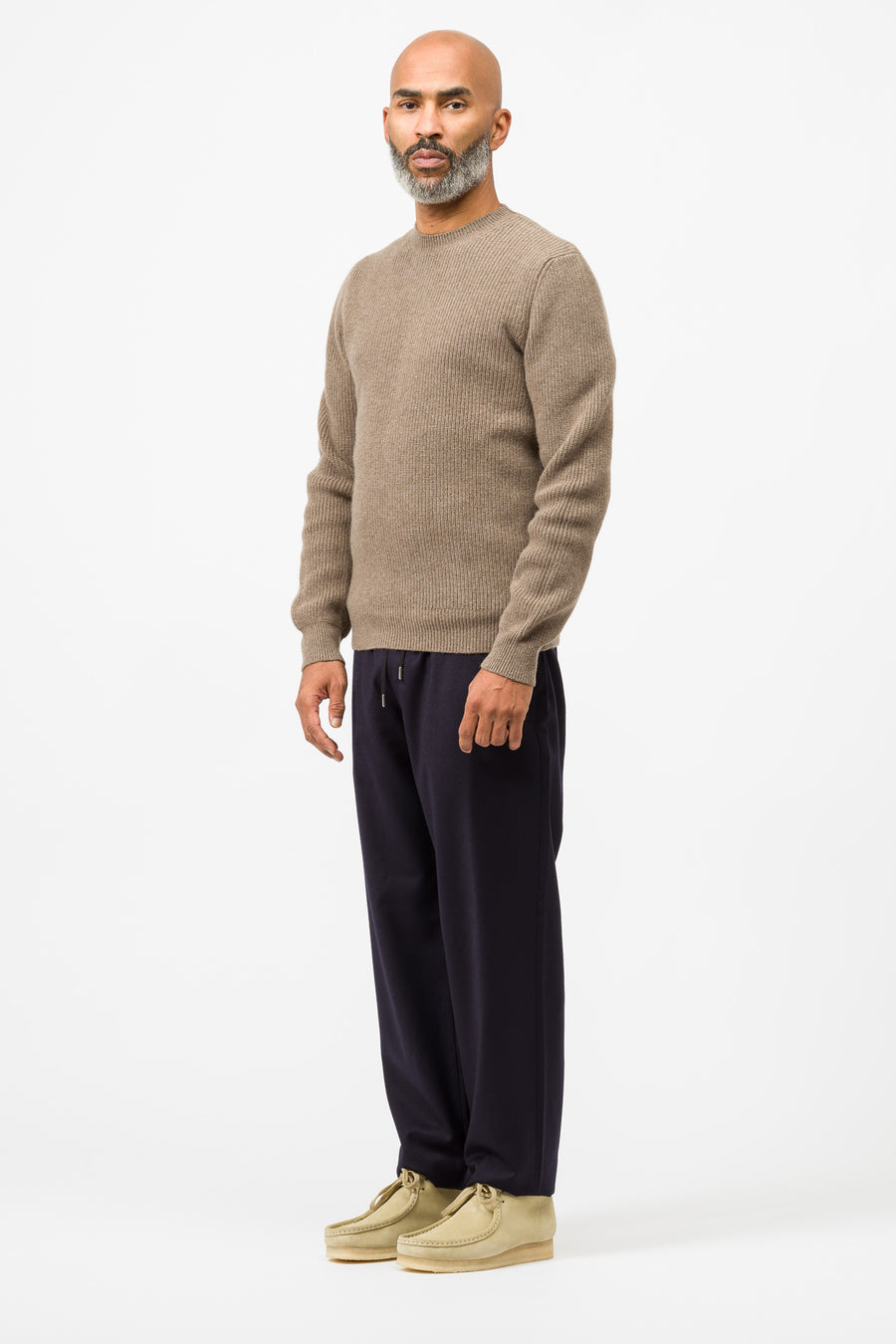 APC Andy Sweater in Brown - Notre