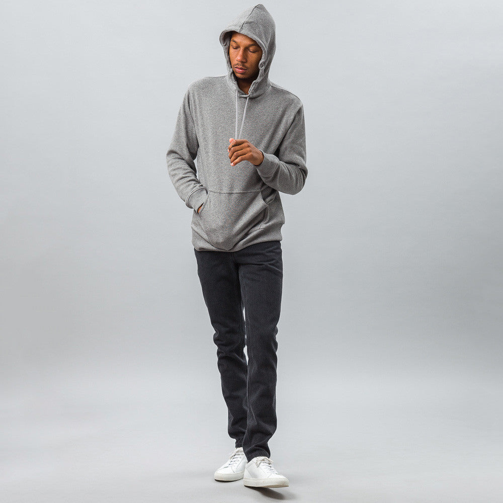 APC - Bro Sweatshirt in Light Heathered Grey - Notre - 1