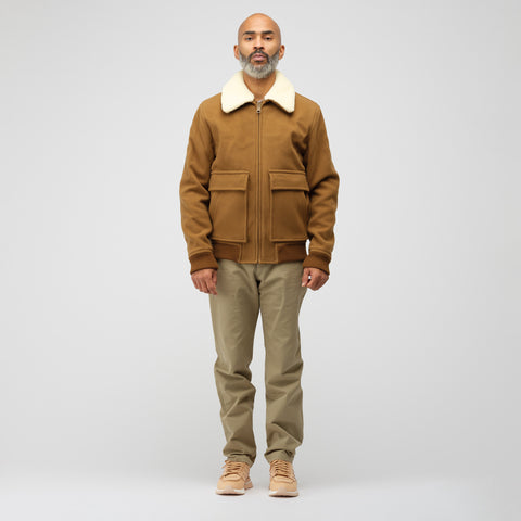 APC Bronze Jacket in Brown - Notre