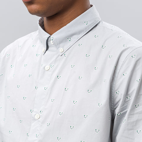 APC BD Shirt in Light Grey - Notre