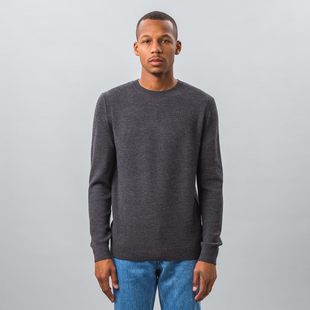 APC - Claude Sweater in Charcoal Grey - Notre - 1
