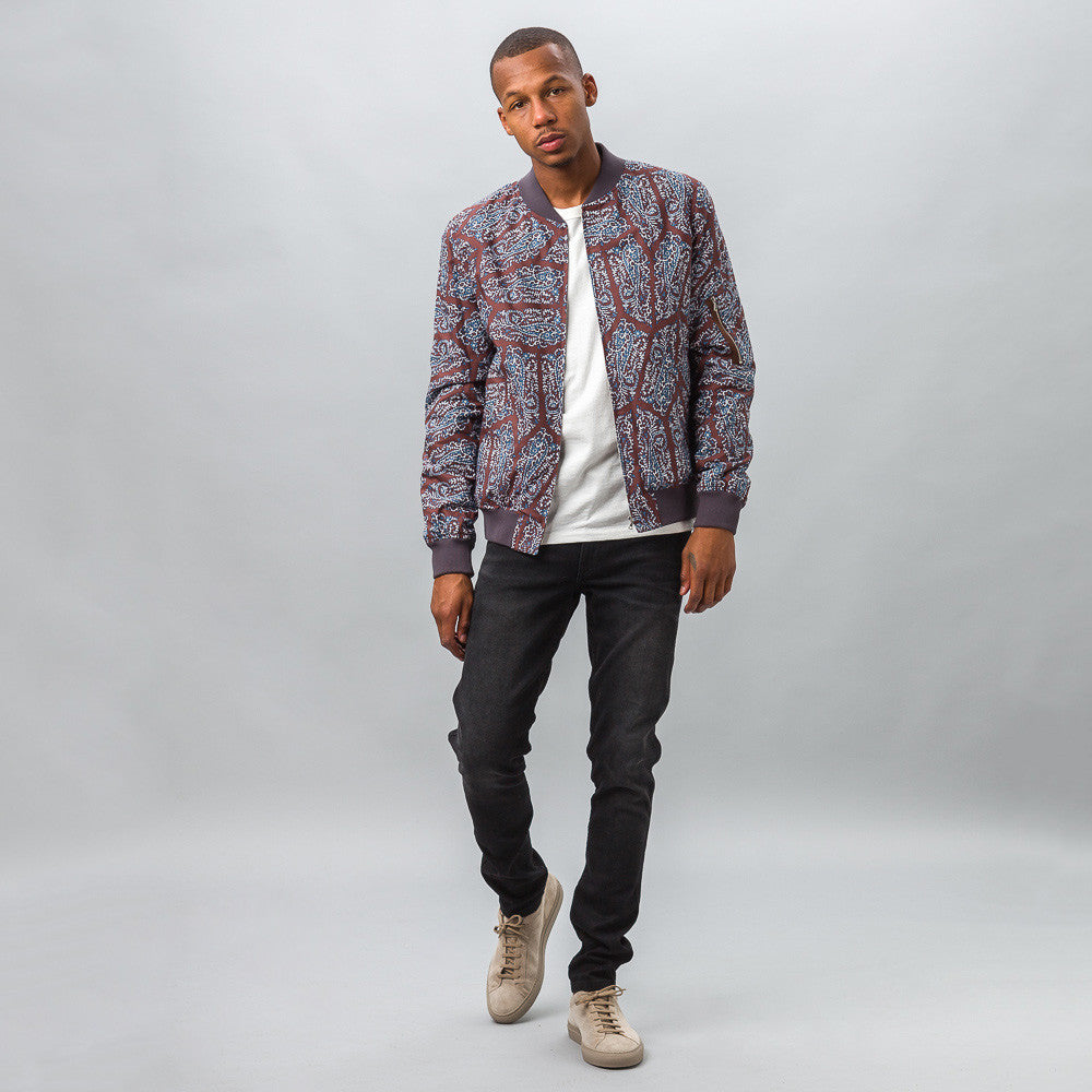 Étienne Jacket in Paisley