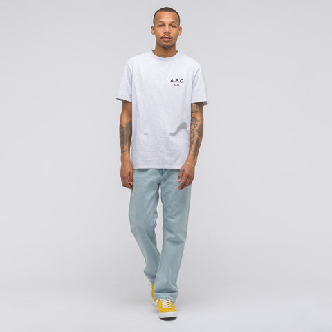 APC Flag T-Shirt in Grey - Notre