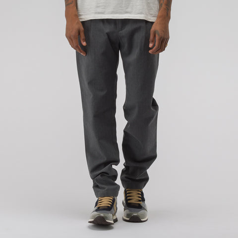 APC Florian Pants in Heathered Charcoal Grey - Notre