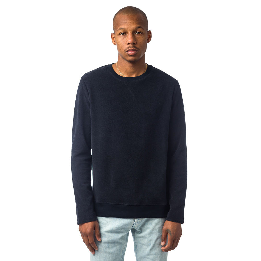APC - Home Sweatshirt in Dark Navy Blue - Notre - 1