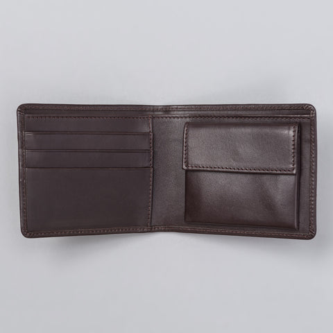 APC London Wallet in Dark Brown - Notre