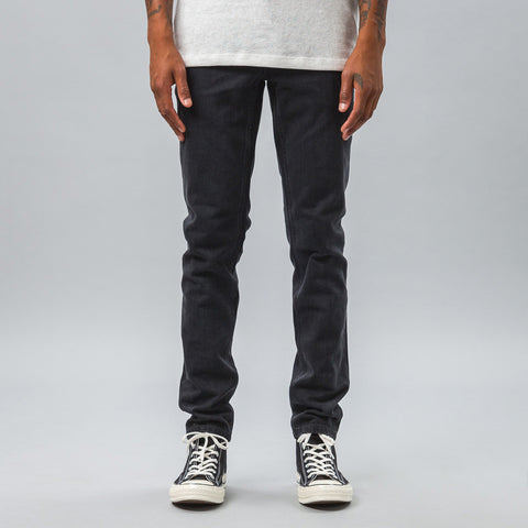 APC - Low Standard Raw Denim in Off-Black - Notre - 1
