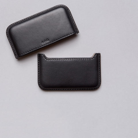 APC Magna Carta Card Holder in Black - Notre