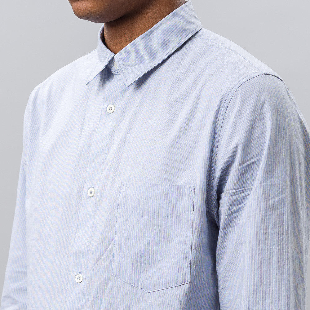 APC Oliver Shirt in Blue Notre 1