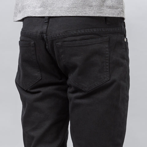 APC Petit Standard in Black Japanese Stretch Denim - Notre