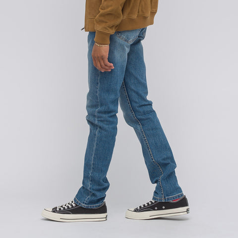 APC Petit Standard in Stonewashed Japanese Stretch Denim - Notre