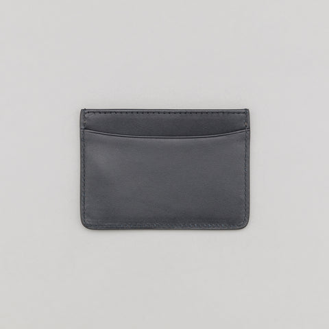 APC André Cardholder in Dark Navy Blue - Notre