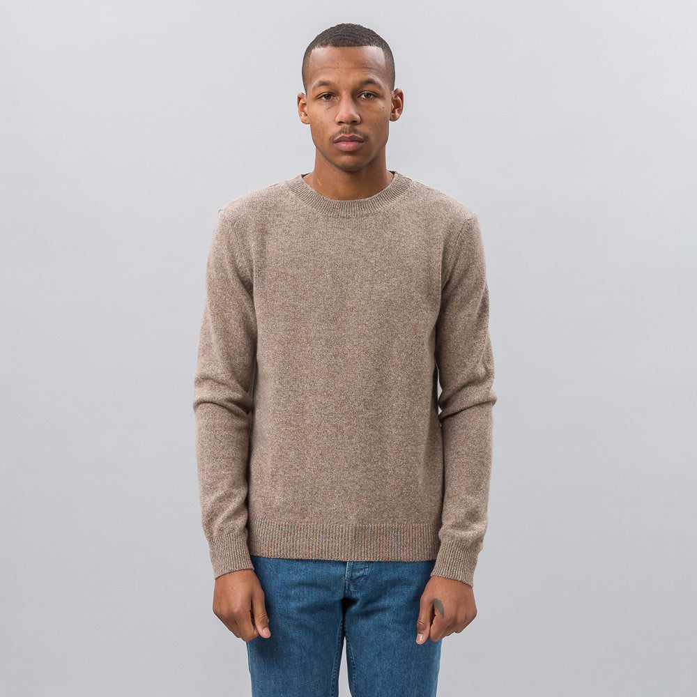 APC Ringo Sweater in Heathered Beige Notre 1