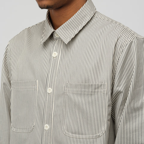 APC David Overshirt in Grey - Notre