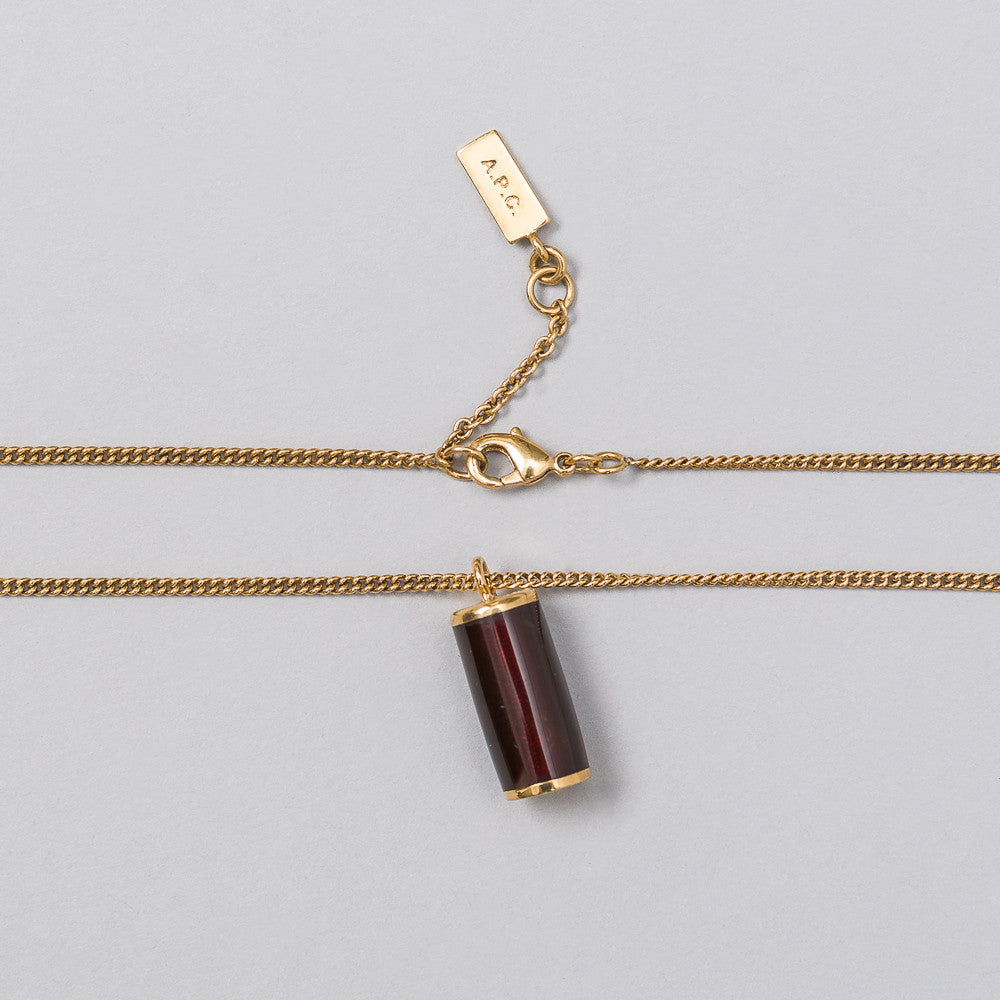 APC Turenne Necklace in Brown - Notre