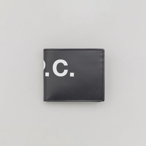 APC Aly Wallet in Dark Navy Blue - Notre