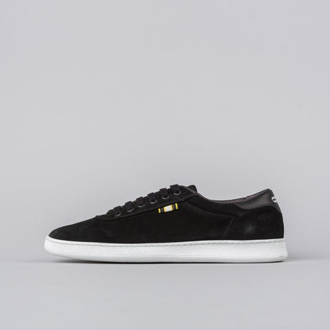 Aprix Suede Low in Black - Notre