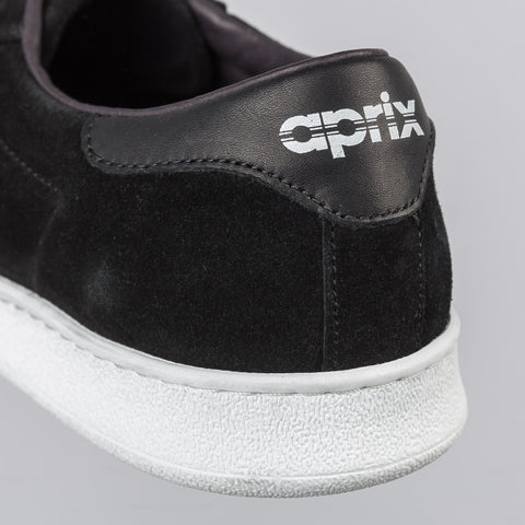 Aprix APR002 Suede Low in Black - Notre
