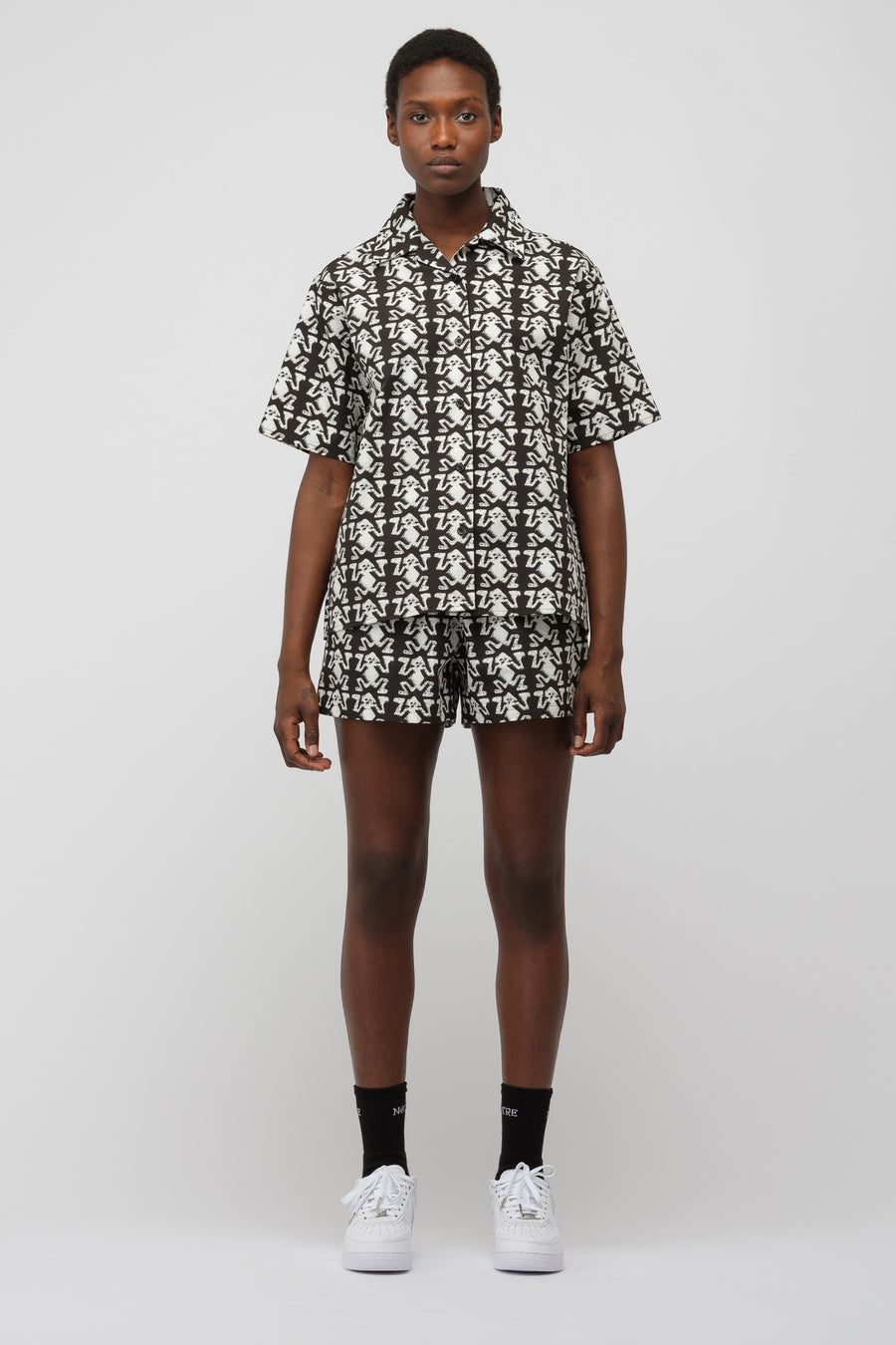 Ashley Williams Tropic Shirt in Artefact - Notre