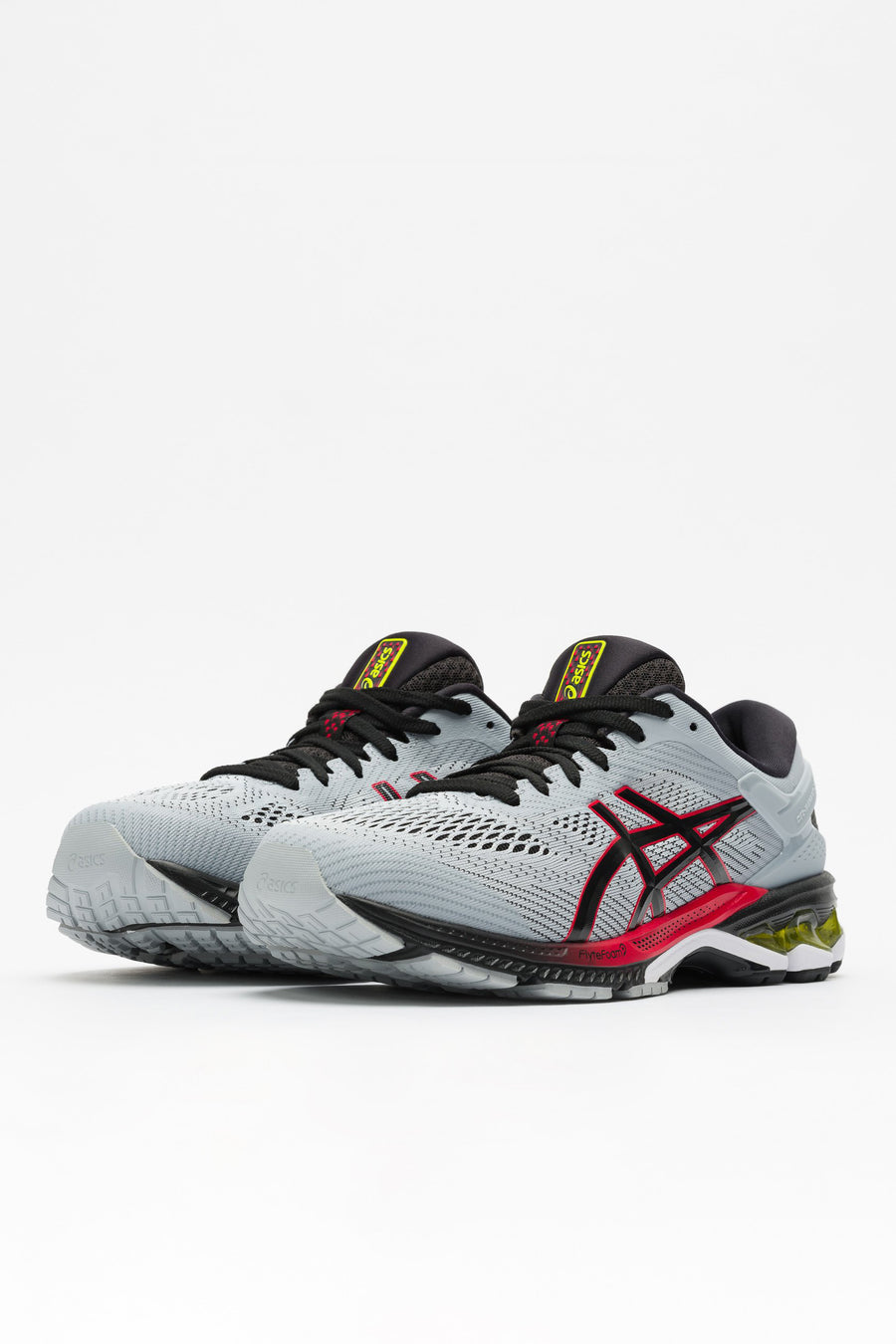 ASICS Gel-Kayano 26 in PIedmont Grey/Black - Notre