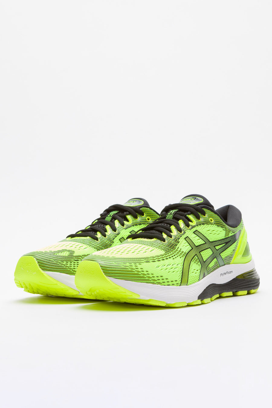 ASICS Gel Nimbus 21 in Safety Yellow/Black - Notre