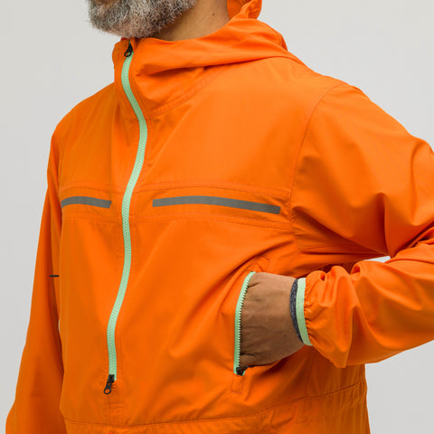 ASICS x Kiko Kostadinov Woven Jacket in Orange - Notre