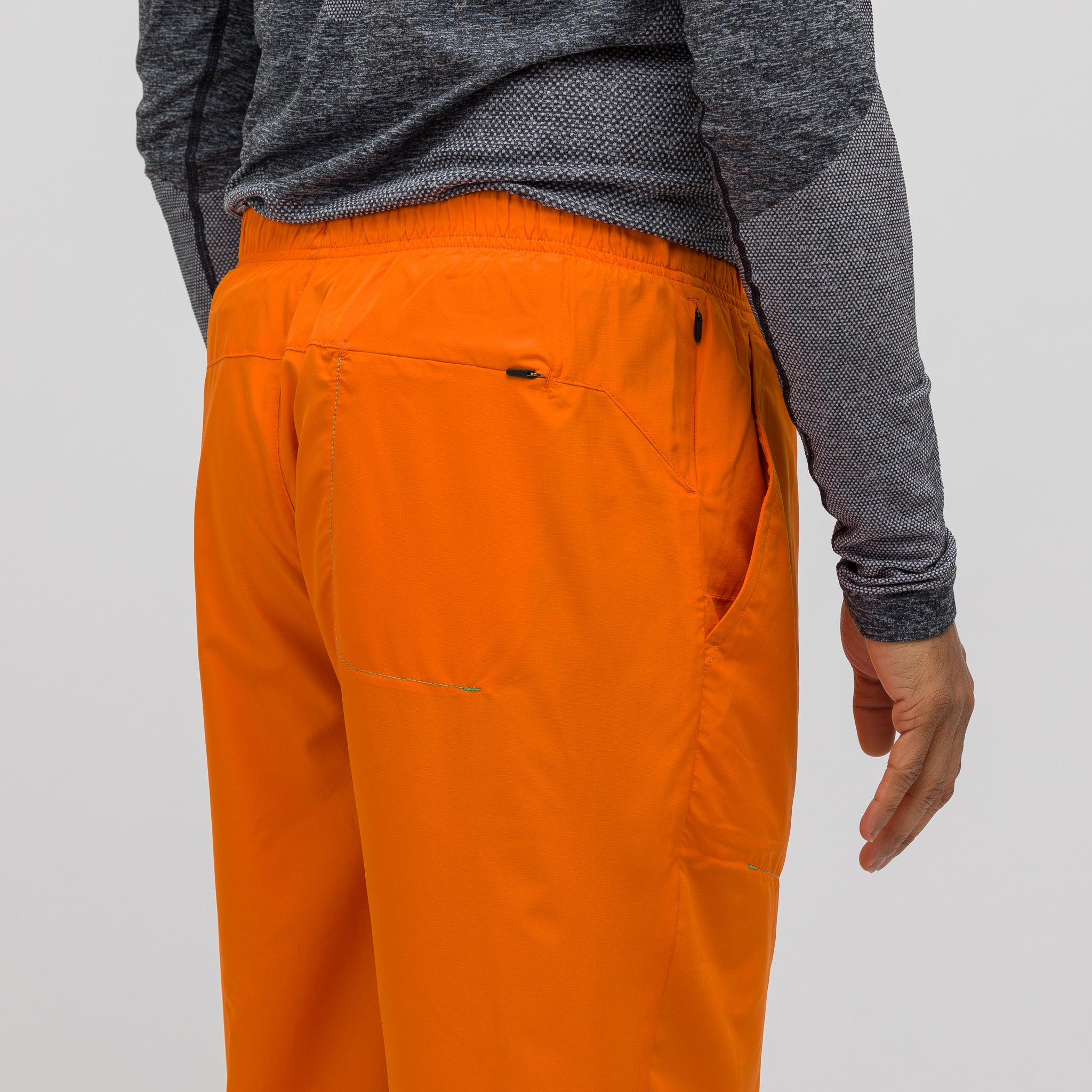 x Kiko Kostadinov Woven Pant in Orange