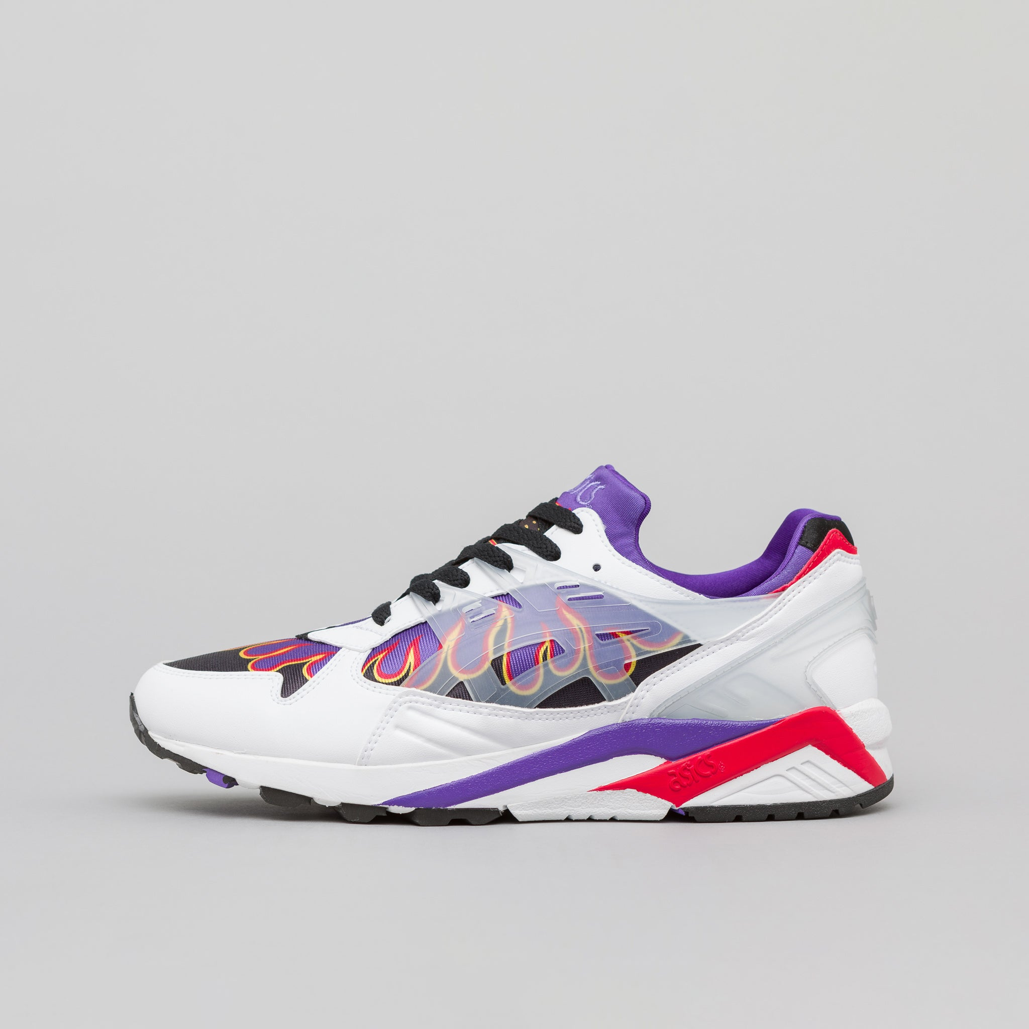 x Sneakerwolf Gel-Kayano Trainer in White/Clear