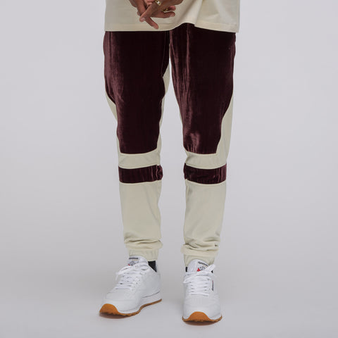 Astrid Andersen Trousers with Cuts in Plum/Cream - Notre