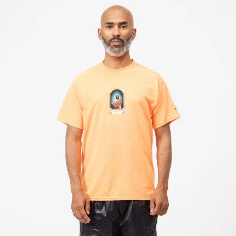 Awake NY Jesus T-Shirt in Orange - Notre