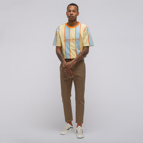 Guess x A$AP Rocky A$AP USA Stripe Tee in Multi - Notre