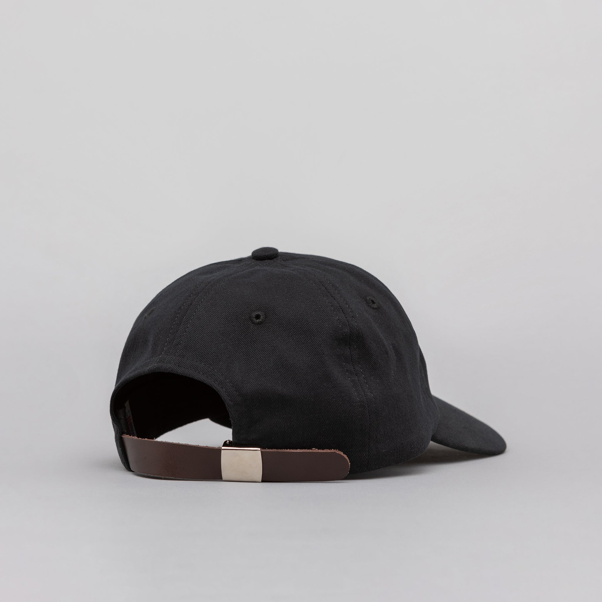 Logo Cap in Black