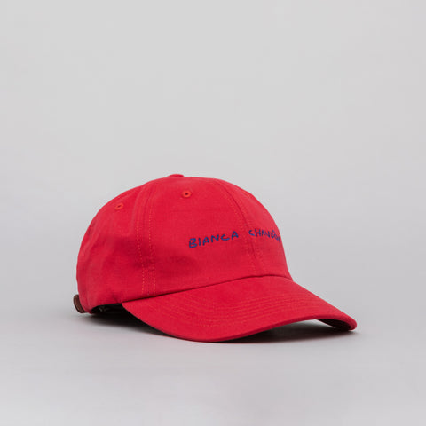 Bianca Chandon Logo Cap in Red - Notre