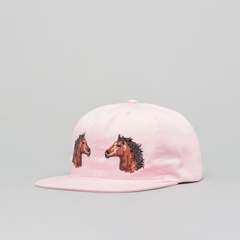 Bianca Chandon Two Horses Hat in Pink - Notre
