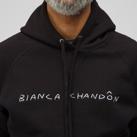 Bianca Chandon Logo Hoodie in Black - Notre