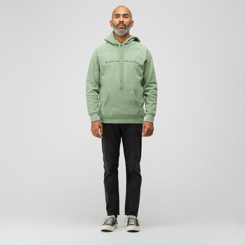 Bianca Chandon Logo Hoodie in Green - Notre