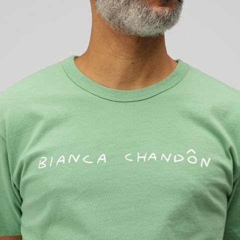 Bianca Chandon Logo T-Shirt in Green - Notre