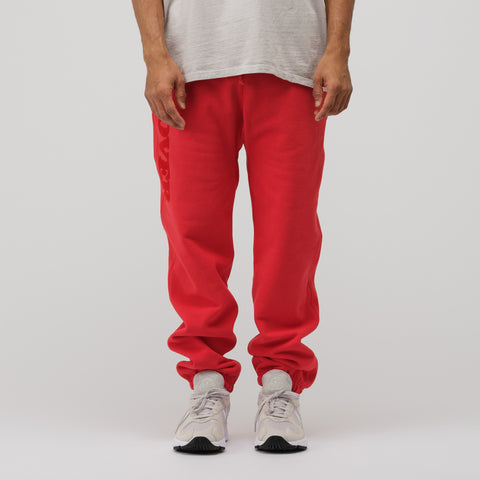 Bianca Chandon Lover Sweatpants in Red/Red - Notre