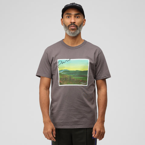 Bianca Chandon Landscape T-Shirt in Faded Black - Notre