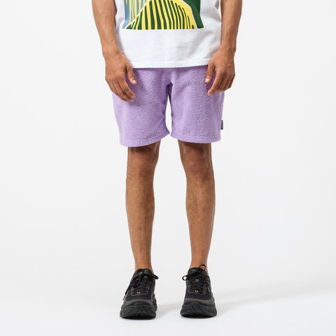 Bianca Chandon Terry Cloth Shorts in Lavender - Notre