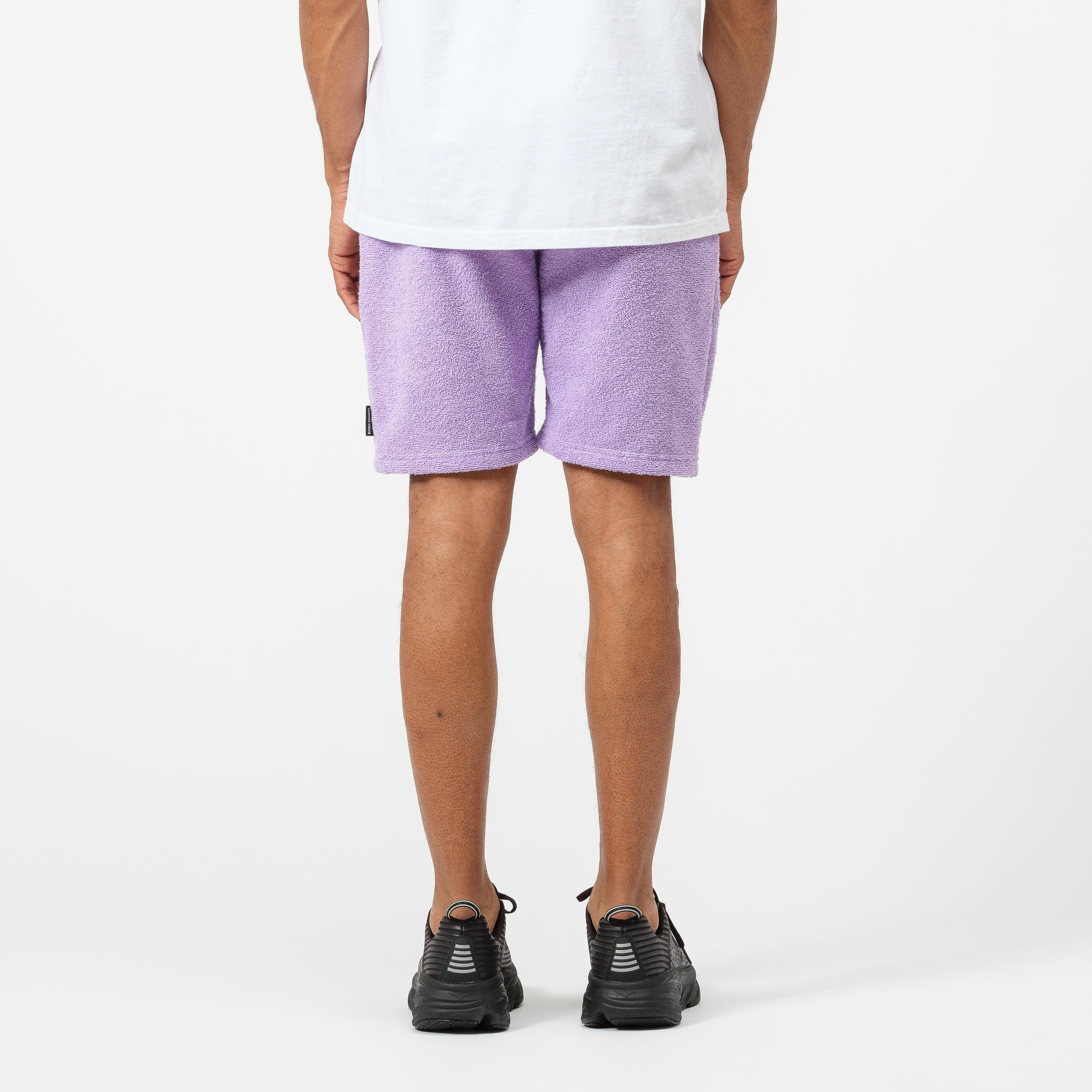 Terry Cloth Shorts in Lavender