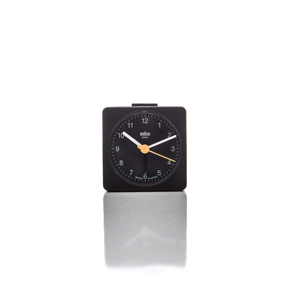 Braun BNC002 Alarm Clock in Black