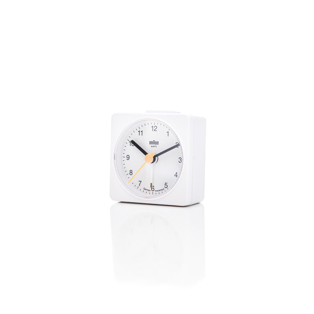 Braun BNC002 Alarm Clock in White